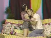 Sex in front of TV